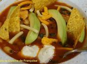 Soupe Mexicaine Poulet comment Nachos sont transformés