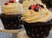 ~Cupcakes Véro l'écorce menthe poivrée~