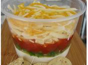 Trempette salsa étagée