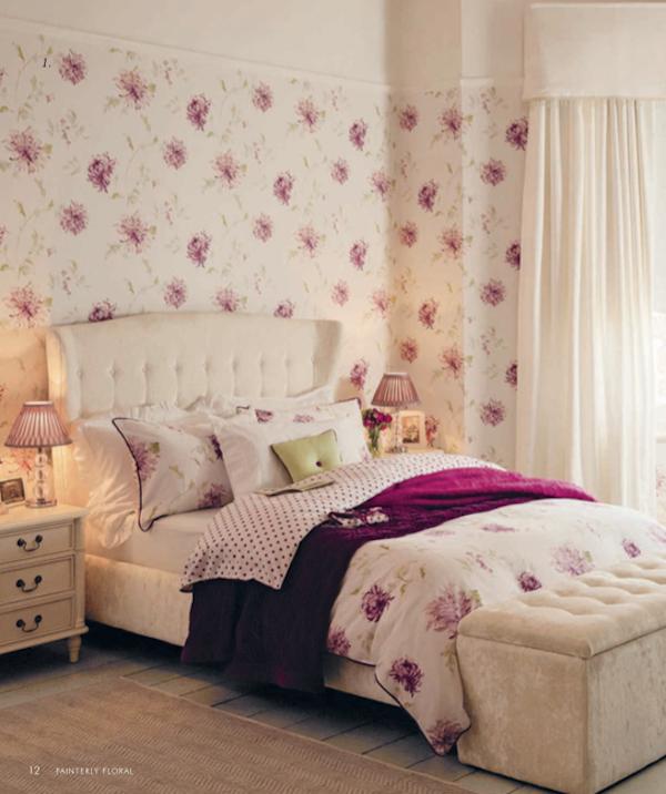decoration le retour du papier peint d couvrir. Black Bedroom Furniture Sets. Home Design Ideas