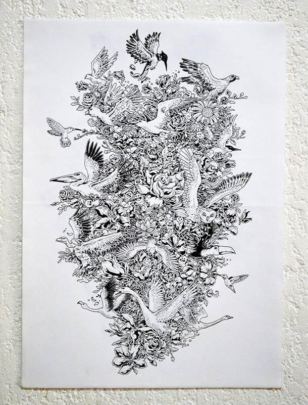 Kerby Rosanes Sketchy Stories Illustrations 192 Voir