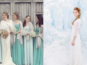 mariage façon Reine neiges
