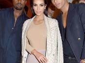 Kardashian Kanye West stars nouvelle campagne Balmain...