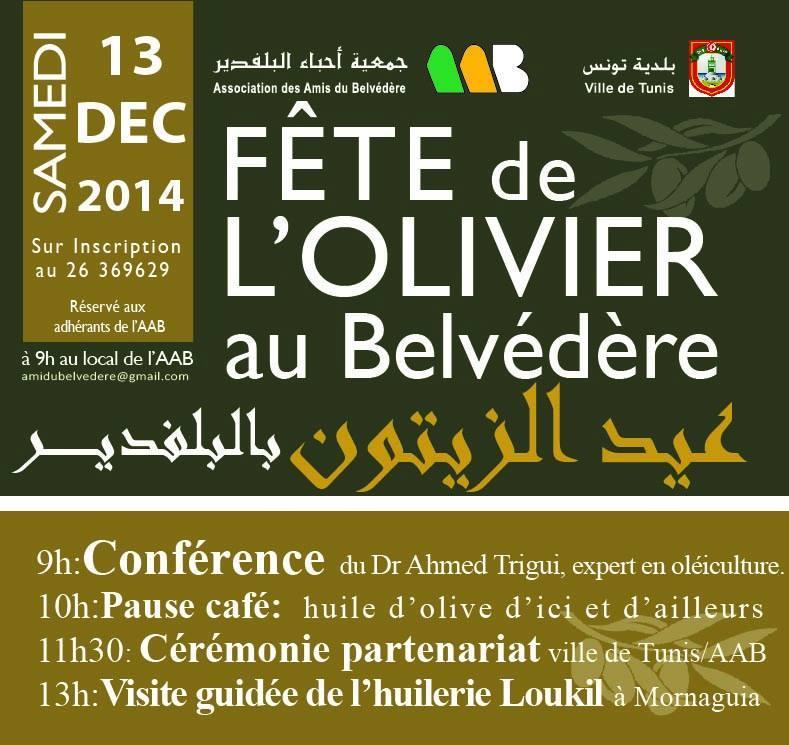 La fête de l'olivier au Belvédère