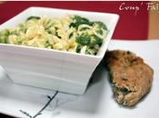 Fusilli brocoli crème parmesan