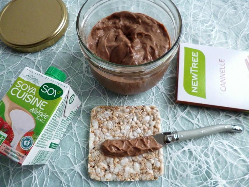 p 226 te 224 tartiner di 233 t 233 tique all 233 g 233 e chocolat cannelle avec cr 232 me de soja et sukrin sans beurre