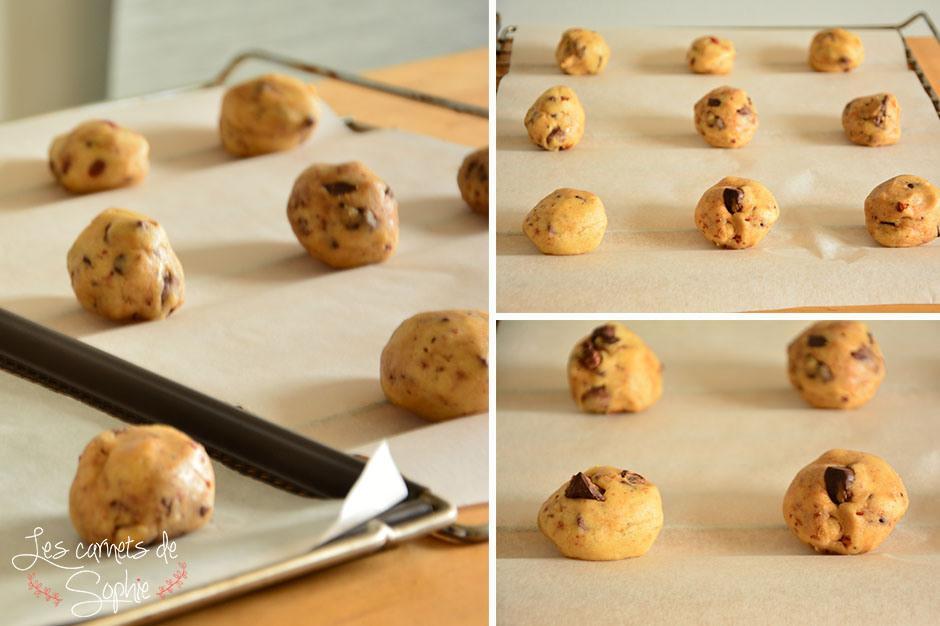cookies moelleux chocolat noisettes paperblog. Black Bedroom Furniture Sets. Home Design Ideas
