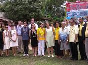 décembre 2014 Krabi avec Élisabeth Zana, hommage commémoratif victimes tsunami
