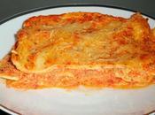 Lasagnes jambon sauce ricotta poivrons doux (avec pâtes fraîches maison)