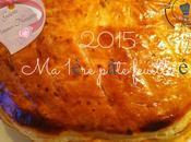 2015 1ère pâte feuilletée (Galette pommes noisettes)