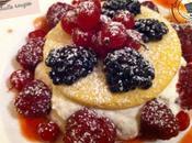 Sablés mousse vanille fruits rouges