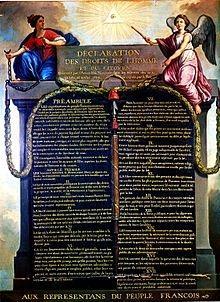 constitution des droits de l'homme