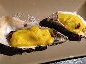 Huîtres gratinées champagne