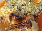 Couscous poulet l'orange