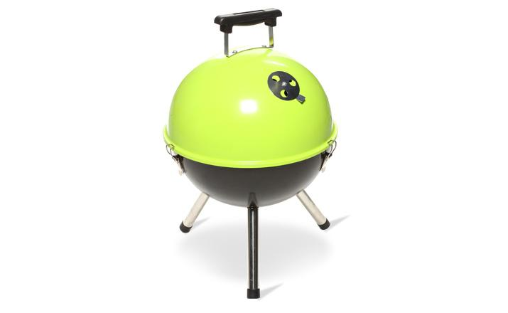 Barbecue soucoupe vert