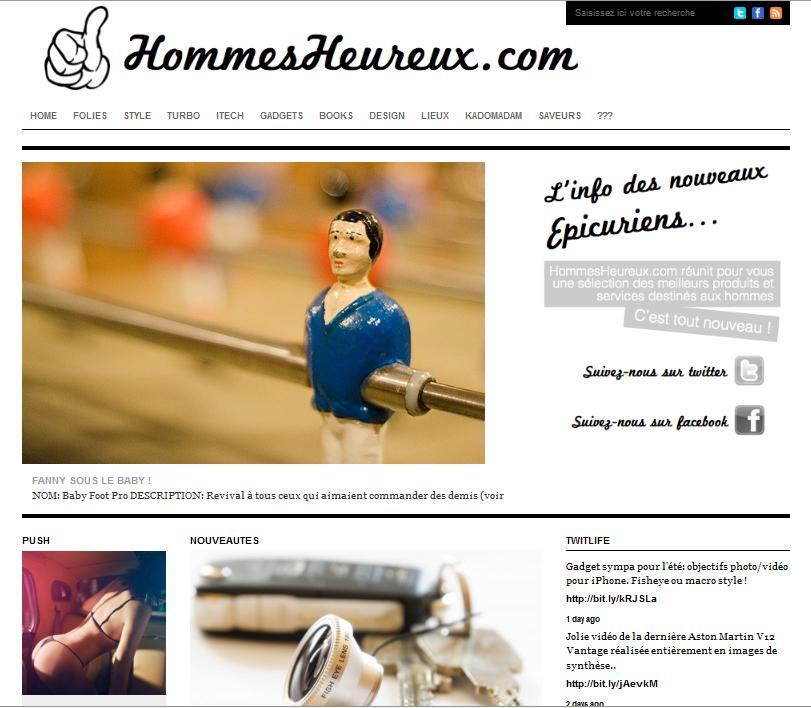 Site Hommesheureux.com