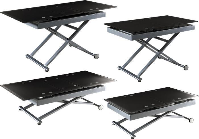 Les meubles modulables l 39 avenir des petits appartements - Table de salon modulable ...