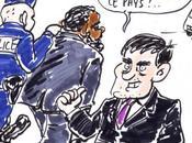 Caricature Dieudonné Manuel Valls