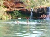 Karijini National Park skinny deep Fern Pool