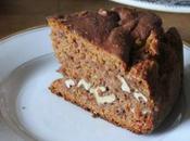 Gâteau kakis noix (vegan)