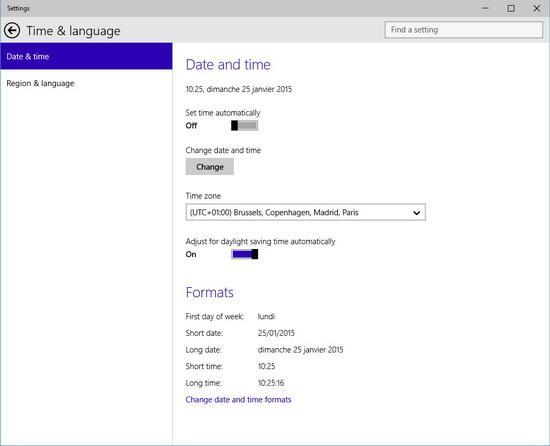 Pour reconnaître le texte dans l'objet navigateur courant en utilisant la reconnaissance optique de caractères de Windows 10, pressez NVDA+r.