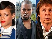 "Rihanna nouveau single ""FourFiveSeconds"" Feat Kanye West Paul McCartney écoute"