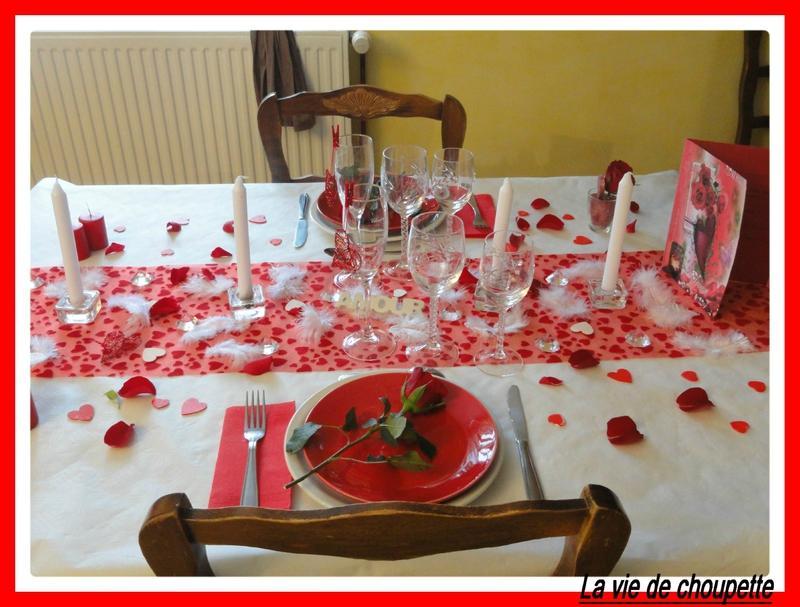 Decorations de table saint valentin voir - Deco de table saint valentin ...