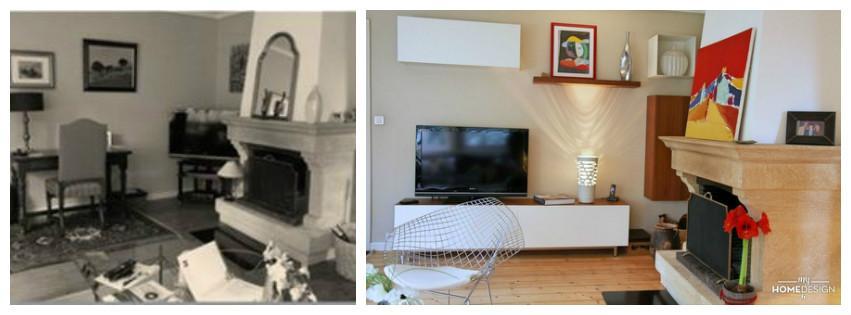 visite d co couleur distill e dans maison contemporaine lire. Black Bedroom Furniture Sets. Home Design Ideas
