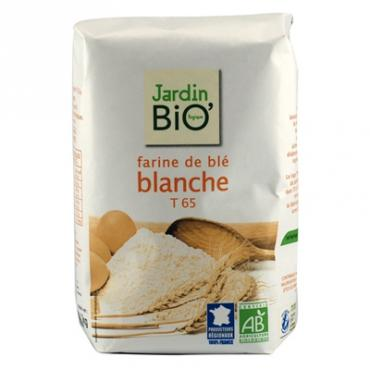 Farine de blé blanche T65 Jardin BiO'...