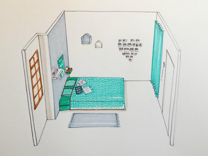 Une chambre d 39 ado avec un petit budget paperblog for Chambre d ado fille 15 ans