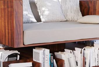 Design ransa ou le canap biblioth que paperblog for Canape qui s allonge