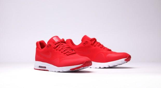 Nike Air Max 1 Rouge Et Gris