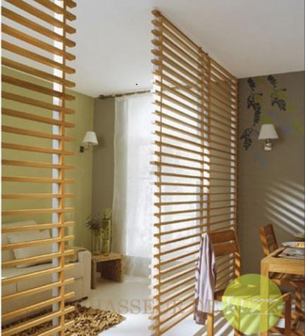 5 s parations originales pour les petits espaces d couvrir for Claustra interieur bois
