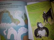 colorie... dragons/ jungle