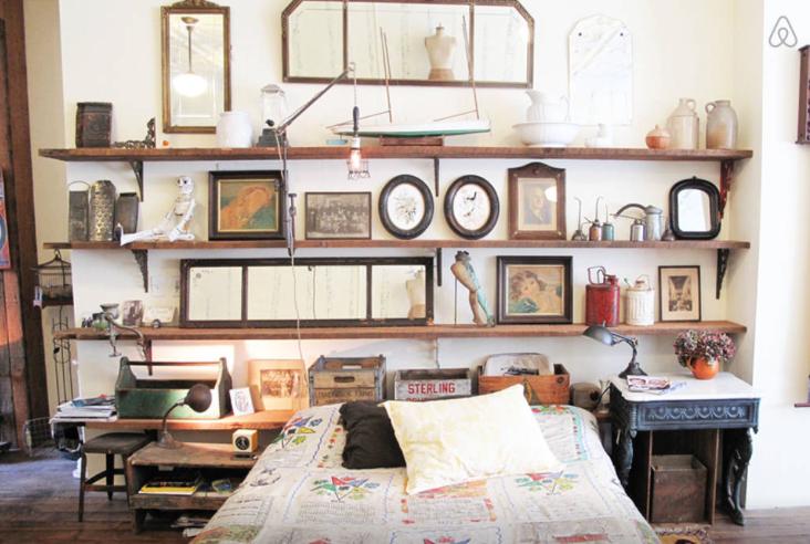 Un appartement boutique d antiquit s williamsburg d cor for Appartement original