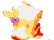Séisme Cholet (29/01/2015, Ml=3.8)