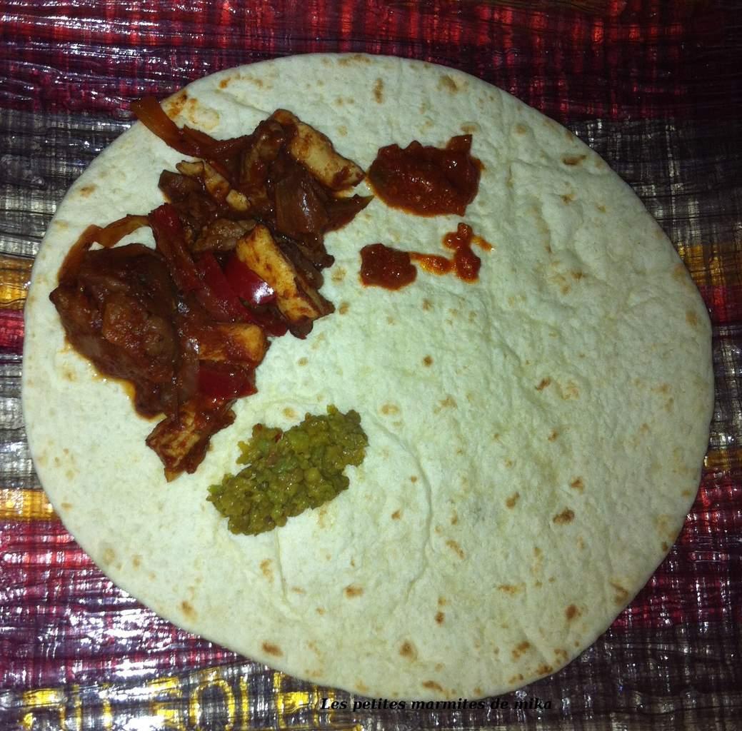 Fajitas ou la chandeleur aux arômes mexicains.