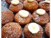Muffins moelleux compotée bananes