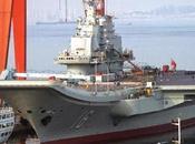 Chine peine camoufler production porte-avions