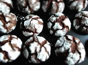 Chocolate Crinkles Biscuits craquelés chocolat