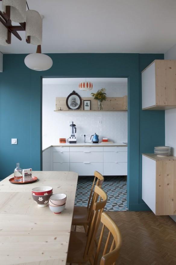 home challenge la couleur de l annee bleu paon ou canard - Chambre Bleu Paon