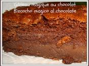 Gâteau magique chocolat Bizcocho mágico chocolate bajo
