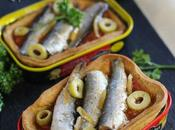 Tartes sardines conserve