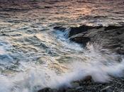 marée haute, soir, pointe Sainte-Marine photos)