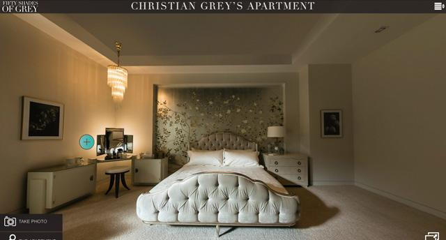 50 nuances de grey l appartement de christian grey en for Chambre 50 nuances de grey