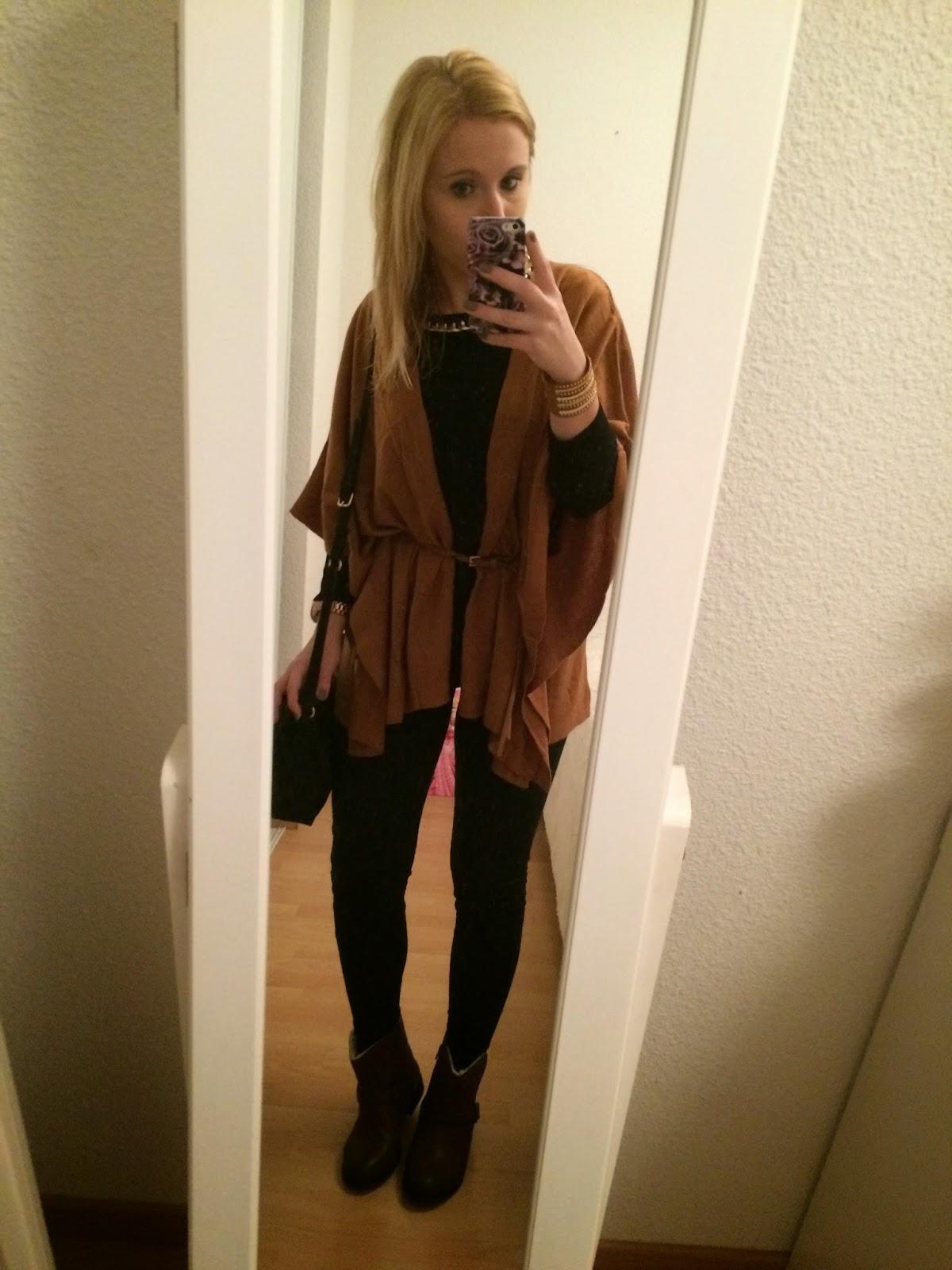 Tenue du jour marron camel d couvrir - Tenue avec bottines marron ...