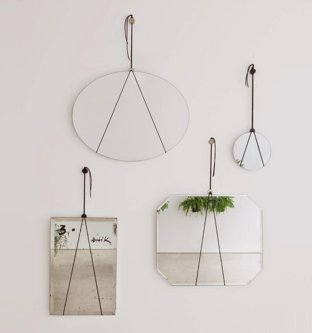 Diy mon petit miroir minimaliste voir for Petit miroir