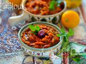 Zaalouk d'aubergine marocaine