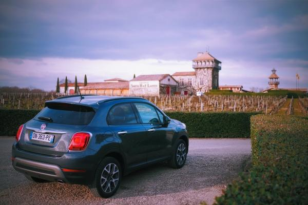 Week end Girondin en Fiat 500X...