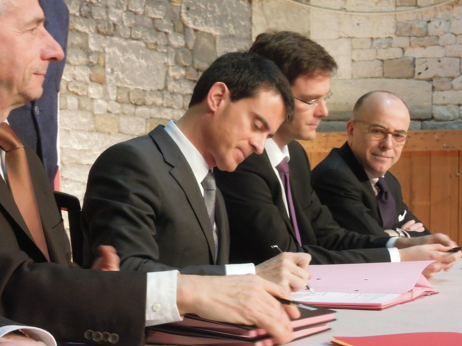 Manuel Valls : du plan Vigipirate au contrat de plan Etat-Région Normandie